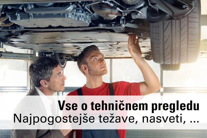 Vse o tehničnem pregledu, nasveti, pogoste težave