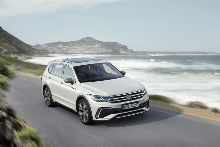 VW Tiguan Allspace 2021