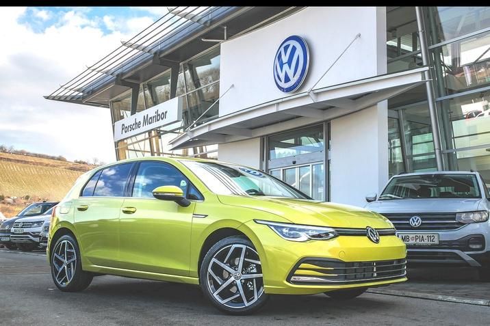 Novi Golf 8 Porsche Maribor