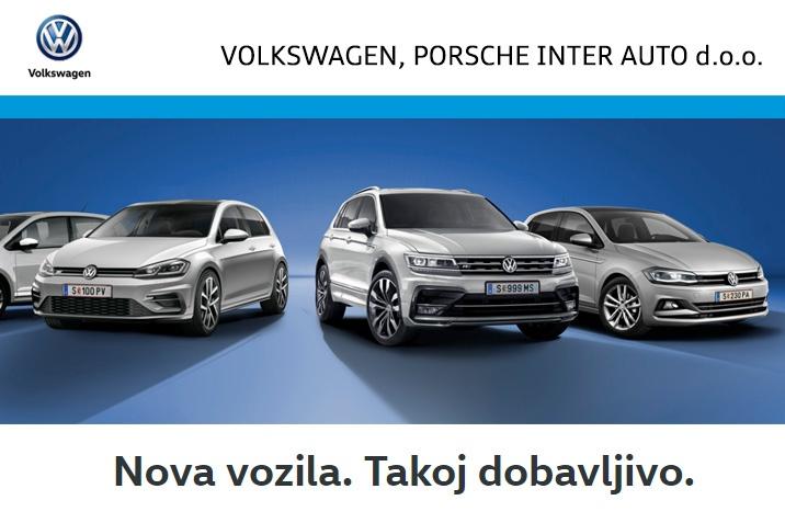Volkswagen - Nova vozila. Takoj dobavljivo.