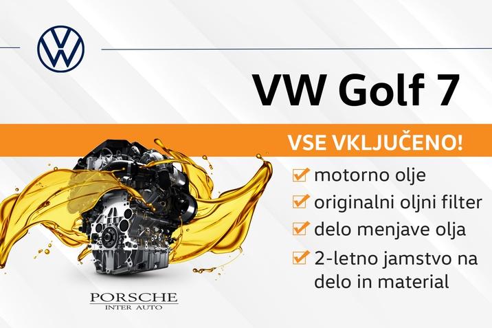 VW GOLF SERVIS