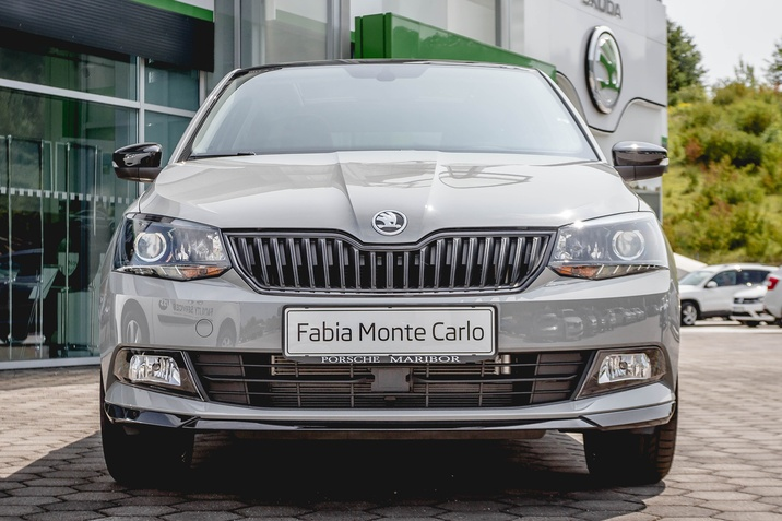 Škoda Fabia Monte Carlo